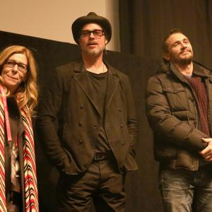 Brad Pitt, James Franco, Dede Gardner
