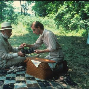Still of Woody Allen and Jos Ferrer in A Midsummer Nights Sex Comedy 1982