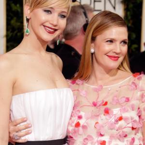 Drew Barrymore and Jennifer Lawrence