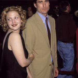 Drew Barrymore and Luke Wilson circa 1990s