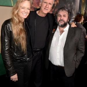 James Cameron, Suzy Amis, Peter Jackson