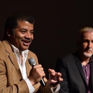 James Cameron, Neil deGrasse Tyson