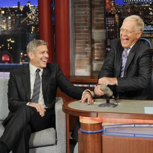 George Clooney, David Letterman