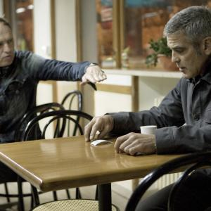 Still of George Clooney and Anton Corbijn in The American 2010
