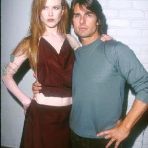 Tom Cruise and Nicole Kidman at event of Eyes Wide Shut 1999