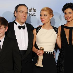 Claire Danes Mandy Patinkin Morena Baccarin and Jackson Pace