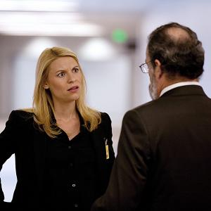 Still of Claire Danes and Mandy Patinkin in Tevyne 2011