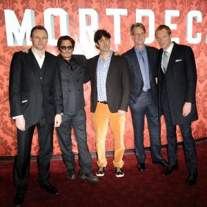 Johnny Depp, Eric Aronson, Paul Bettany, David Koepp