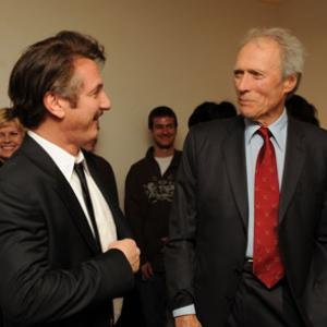 Clint Eastwood and Sean Penn