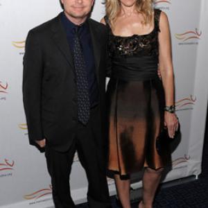 Michael J Fox and Tracy Pollan