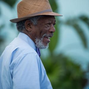 Still of Morgan Freeman in Dolphin Tale 2 (2014)