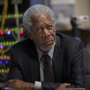 Still of Morgan Freeman in Liusi (2014)