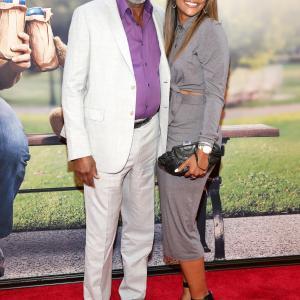 Morgan Freeman and Alexis Freeman at event of Tedis 2 (2015)
