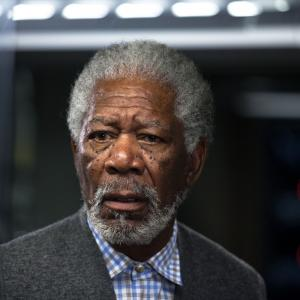 Still of Morgan Freeman in Viespatavimas (2014)