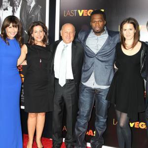 Michael Douglas, Morgan Freeman, Kevin Kline, Mary Steenburgen, Romany Malco, Laurence Mark and Amy Baer at event of Paskutini karta Las Vegase (2013)