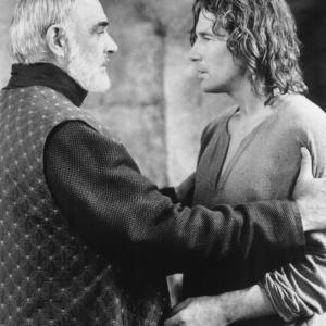 Still of Sean Connery and Richard Gere in First Knight 1995