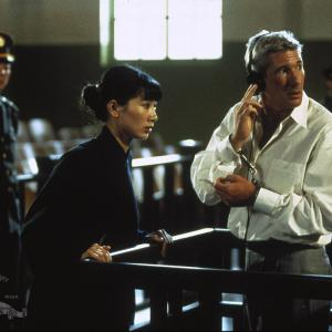 Still of Richard Gere and Bai Ling in Red Corner 1997