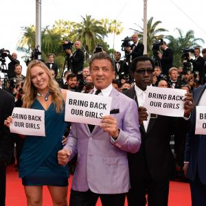 Mel Gibson, Sylvester Stallone, Wesley Snipes, Kelsey Grammer and Ronda Rousey