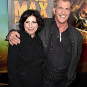 Mel Gibson and Sue Kroll at event of Paseles Maksas: ituzio kelias (2015)
