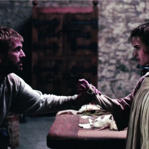 Still of Mel Gibson and Helena Bonham Carter in Hamlet (1990)