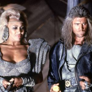 Still of Mel Gibson and Tina Turner in Mad Max Beyond Thunderdome (1985)