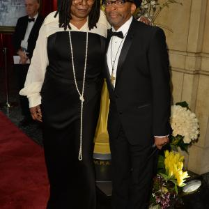 Whoopi Goldberg, Spike Lee