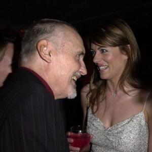 Elizabeth Hurley and Dennis Hopper