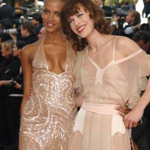 Milla Jovovich and Nomie Lenoir at event of Chromophobia 2005