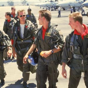 Tom Cruise, Val Kilmer, Anthony Edwards