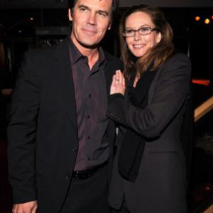 Diane Lane and Josh Brolin at event of Crazy Heart 2009