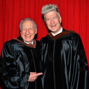 David Lynch and Mel Brooks