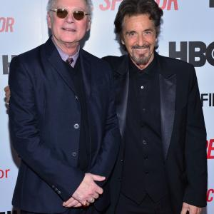 Al Pacino and Barry Levinson at event of Phil Spector 2013