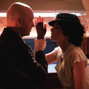 Still of Parker Posey and Kevin Spacey in Superman Returns 2006