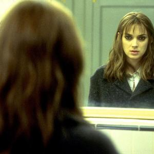 Maya looks in the mirror