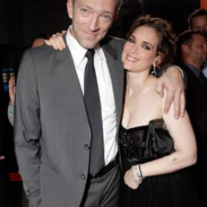 Winona Ryder and Vincent Cassel at event of Juodoji gulbe 2010