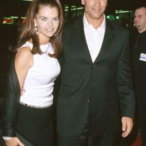 Arnold Schwarzenegger and Maria Shriver at event of End of Days 1999