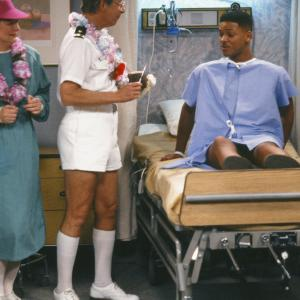 Still of Will Smith and Bernie Kopell in The Fresh Prince of BelAir 1990