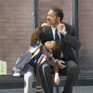 Still of Will Smith and Jaden Smith in The Pursuit of Happyness 2006