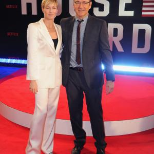 Kevin Spacey, Robin Wright