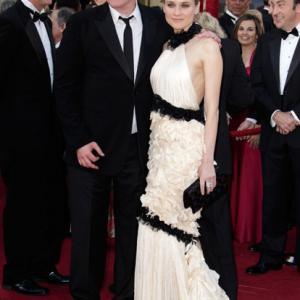 Quentin Tarantino and Diane Kruger at event of The 82nd Annual Academy Awards 2010