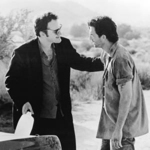 Still of Quentin Tarantino and Dylan McDermott in Destiny Turns on the Radio 1995
