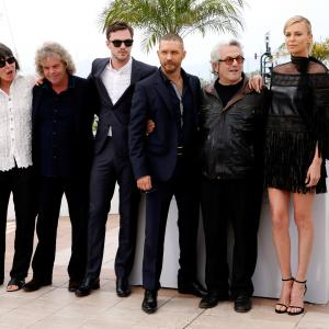 Charlize Theron, George Miller, Tom Hardy, Nicholas Hoult, Doug Mitchell