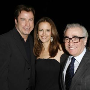 Martin Scorsese John Travolta and Kelly Preston