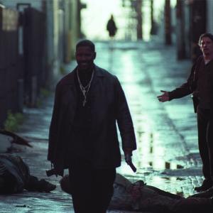 Still of Ethan Hawke and Denzel Washington in Isbandymu diena 2001
