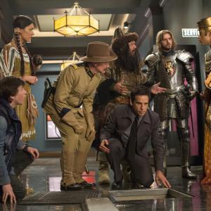Robin Williams, Ben Stiller, Patrick Gallagher, Mizuo Peck, Dan Stevens, Skyler Gisondo, Rami Malek