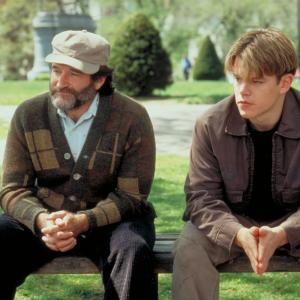 Robin Williams, Matt Damon