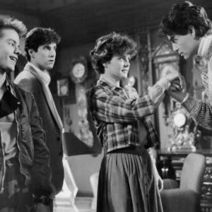Amanda Bearse, Chris Sarandon, Stephen Geoffreys, William Ragsdale