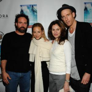 Amy Brenneman Jason Patric Maria Bello and Johan Renck at event of Downloading Nancy 2008
