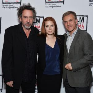 Tim Burton, Amy Adams, Christoph Waltz