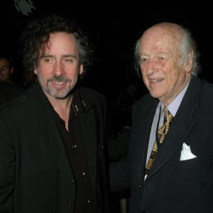 Tim Burton, Ray Harryhausen, Barry King
